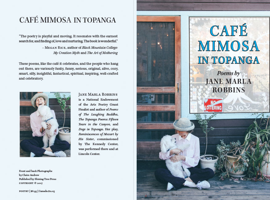 Cafe Mimosa - book