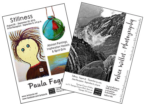 Felice & Paula - postcards