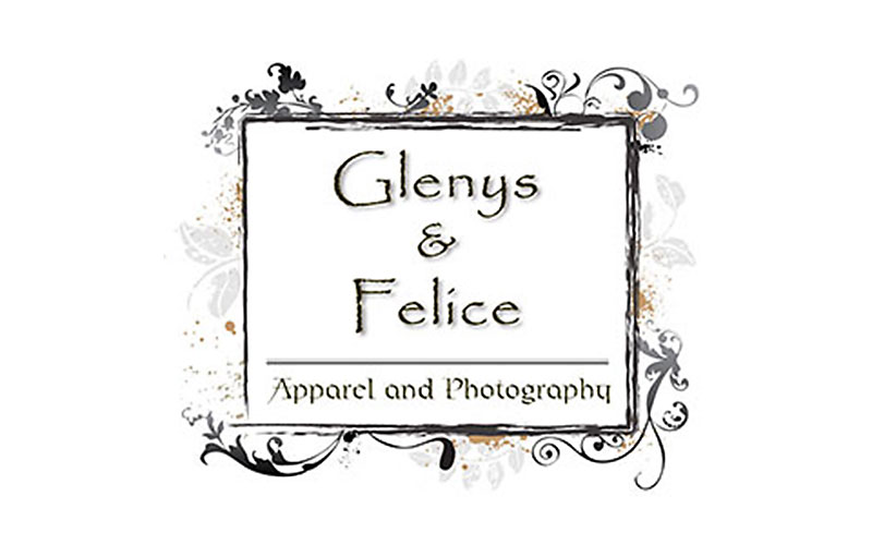 Glenys & Felice - store window sign