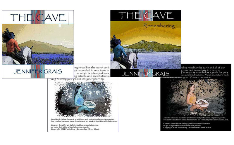 Jennifer Grais - CD covers
