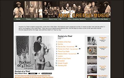 Mike Greene - Music