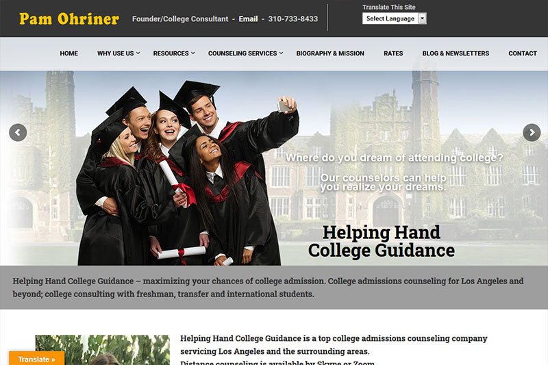 Helping Hand College Guidance