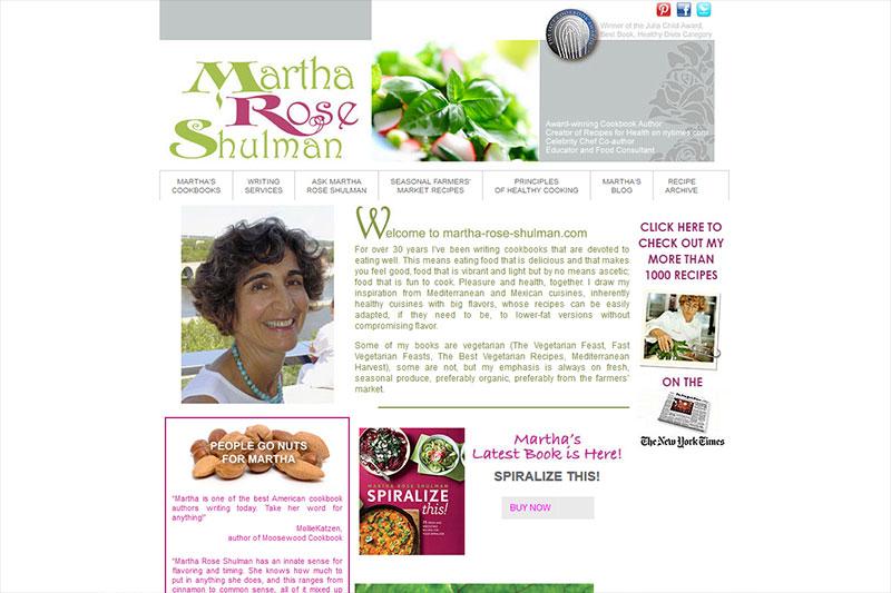 Martha Rose Shulman - Chef & Author