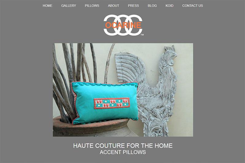 Ocarine - Accent Pillows