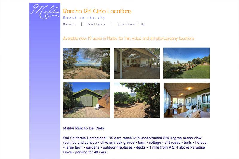 Rancho del Cielo Locations