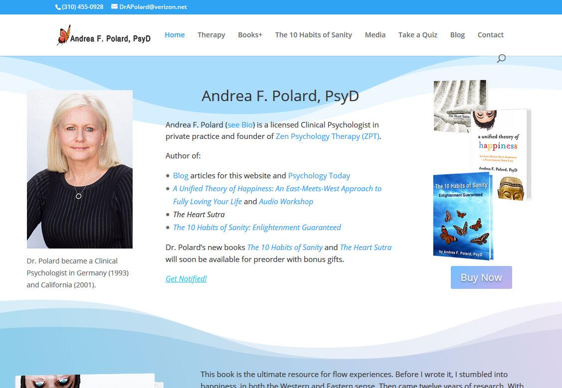 Andrea F Polard - Author & Psychologist