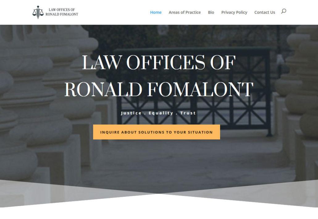 Ron Fomalont Law